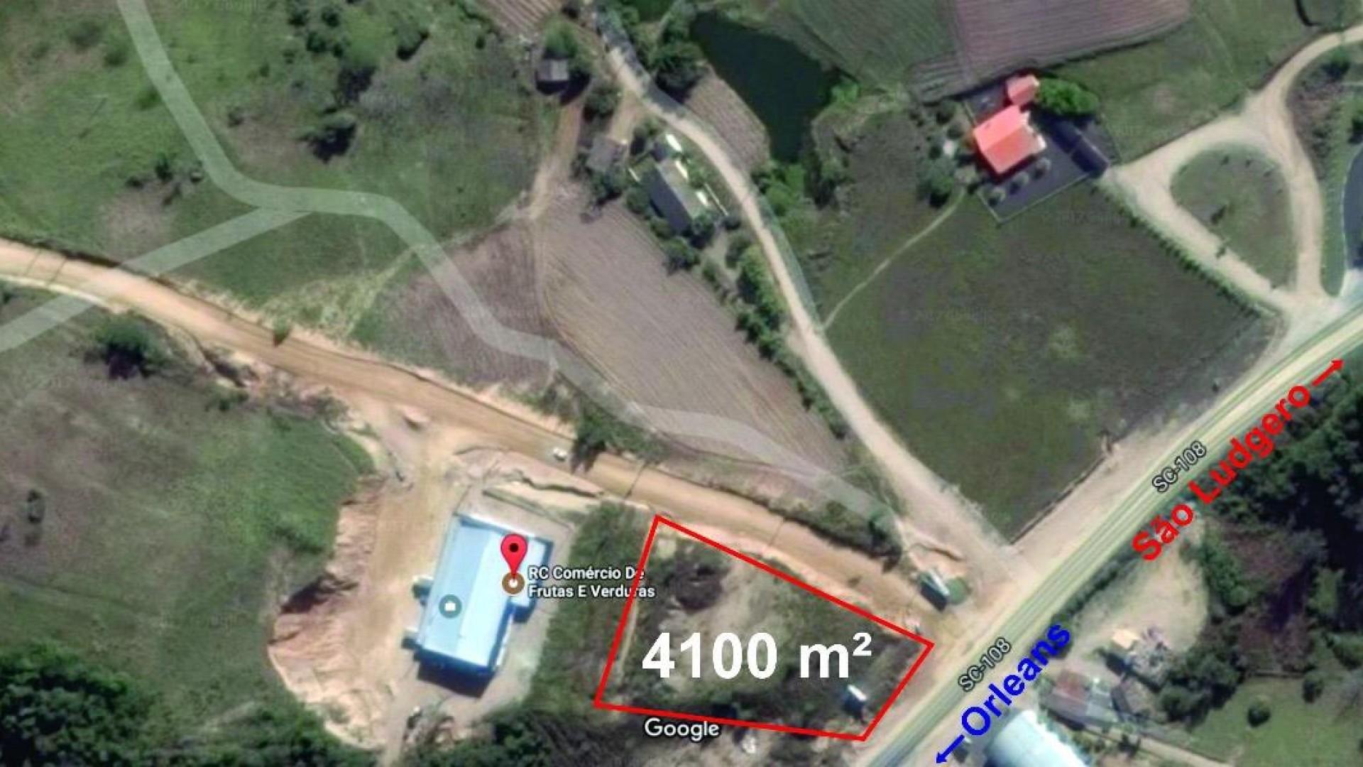 Terreno comercial Rodovia SC 108 - Foto 1