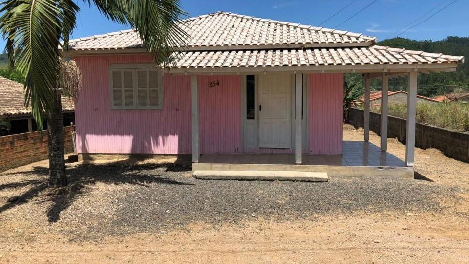 Casa de madeira Encosta do sol - VENDIDO
