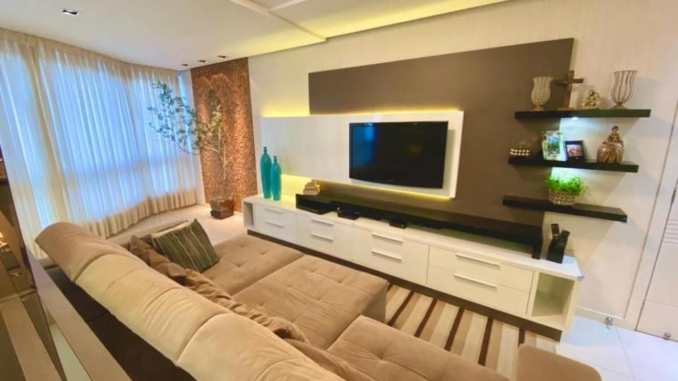 Lindo Apartamento Mobiliado no Residencial Müller